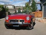 1974 MG MGB MkIII Red Jon Sisenwein