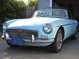 1964 MG MGB Iris Blue Jake Voelckers