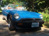 1977 MG MGB Blue amy s
