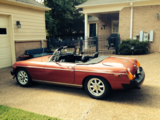 1977 MG MGB MkIV Damask Red Steve Feltman