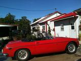 1971 MG MGB Red Margaret Hobson