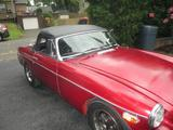 1977 MG MGB Red Robert Whitehead