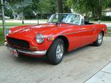 1973 MG MGB Red Art Griffin