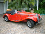 1954 MG TF MG RED Ian Gail