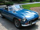 1971 MG MGB Blue Dave Colledge