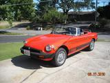 1980 MG MGB Orange Howard Bailey