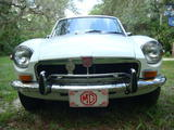 1974 MG MGB GT White Elaine Burns