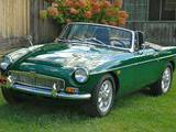 1969 MG MGC British Racing Green Daniel Murphy