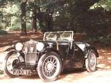 1932 MG J Type Midget Black Lew Palmer