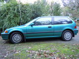 1991 Honda Civic Blue Don Scott