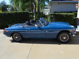 1974 MG MGB Blue Jeff Pfeiffer