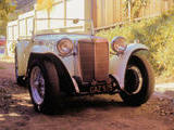 1947 MG TC Old English White Mike Tooke