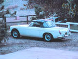 1967 MG MGB Old English Ivory Mike Tooke