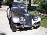 1954 MG TF Silver John Conarroe