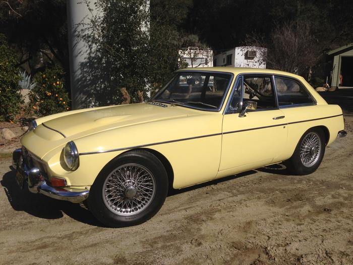 1968 MG MGC GT (GCD1U3795G) : Registry : The MG Experience