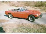 1979 MG MGB Mandarin Red Orange Doug Colwell