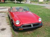 1977 MG MGB RED Fred Lindner