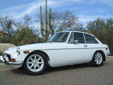 1974 MG MGB GT White Payne Walker