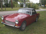 1972 MG 1100 Bright Red Sharon Bussert