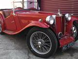 1936 MG TA Red Elliott b