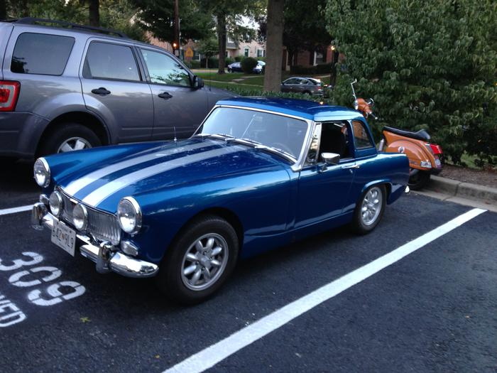1969 mg midget frankenspridget registry the mg