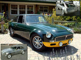 1968 MG MGC GTS BRG Chip Pedersen