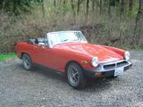 1976 MG Midget MkIII Red Steve H