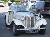 1952 MG TD Old English White Denis Leeds