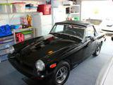 1976 MG M Type Midget Black David Pippin