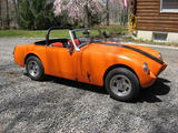 1974 MG Midget Omaha Orange Marc Meccia