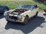 1970 MG Midget Yellow Dave Feeser