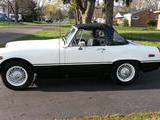 1977 MG Midget 1500 White And Black don hicks