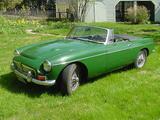 1968 MG MGC Green kirk rau