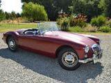 1958 MG MGA Oxblood Anna P