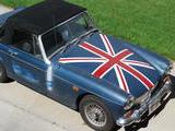 1969 MG Midget MkIII Blue Michel Watson