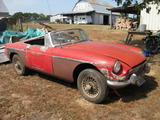 1967 MG MGB Red John M