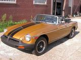 1977 MG MGB Gold Mike Bewley
