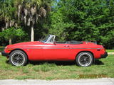 1980 MG MGB Red Arnold Toney