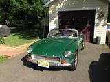 1970 MG MGB British Racing Green Marco Correia