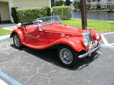 1955 MG TF 1500 MG RED Ian Gail