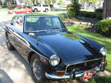1971 MG MGB GT Black van k
