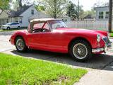 1962 MG MGA MkII Red Michael Cohen