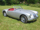 1958 MG MGA 1500 Jaguar Platinum Bill B