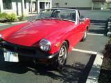 1975 MG Midget 1500 Red Sean Neary