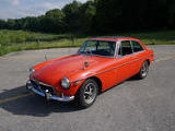 1972 MG MGB GT Orange Nick V