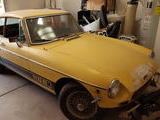 1973 MG MGB GT Yellow Matt W
