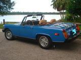 1978 MG Midget 1500 BLUE Don Rilea