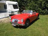 1957 MG MGA 1500 Red 43 gerhard Maasman