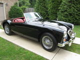 1962 MG MGA MkII Black Mark Thompson