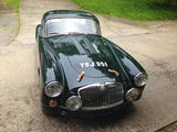 1961 MG MGA 1600 De Luxe Dark Green Dave N